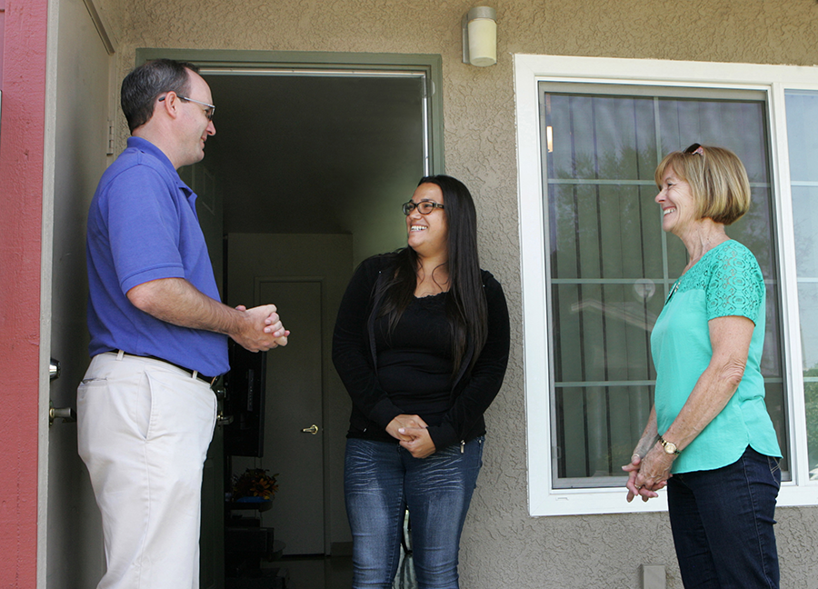 Energy saving improvements throughout Casas de la Viña are making life better for all the residents.