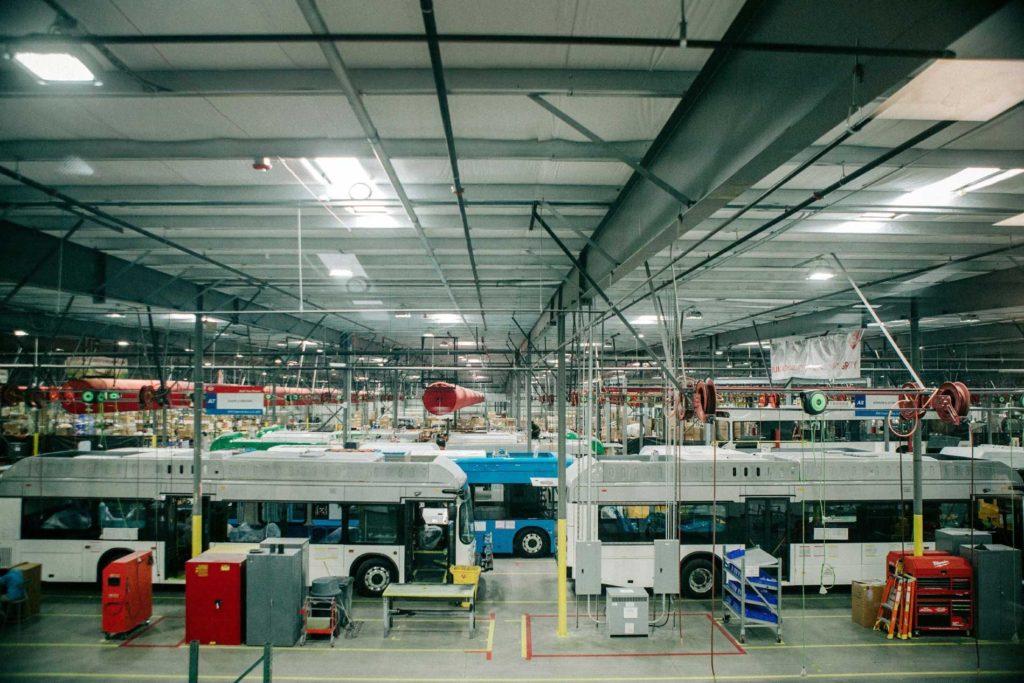 BYD Company facility